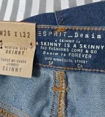 Esprit denim ombre jeans hlače