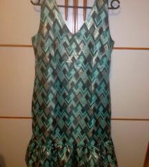 Closet London frill hem lined dress