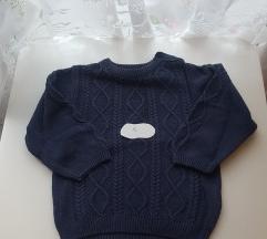Pamučni pleteni džemper 86