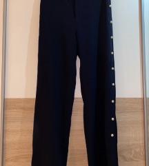 Zara široke hlače sa detaljima 36