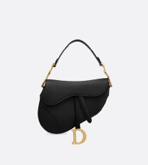 REZZ/ CHRISTIAN DIOR saddle crna torba