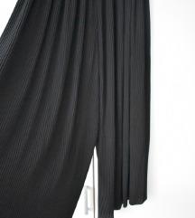 ZARA plisirane palazzo hlače