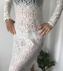 Nova s etiketom čipkana haljina