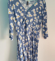 cvjetna viskozna haljina