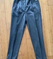 Zara sive prugaste hlače