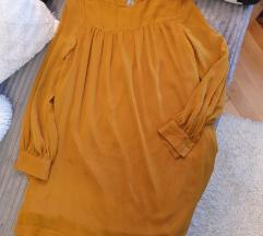 H&M oker muslin haljinica/tunika