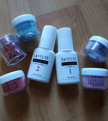 Dip lot/set za nokte- baza,aktivator,boje,gliter