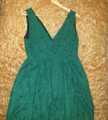 Zelen ljetna haljina L