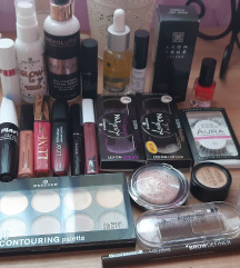 Veliki lot dekorativne kozmetike