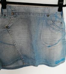 KILLERLOOP jeans suknja %%% RASPRODAJA