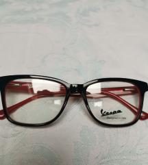 Crveno crne naočale za vid