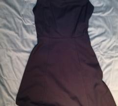 H&M kraljevsko plava haljina