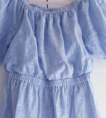 Prugasta haljina-tunika 36