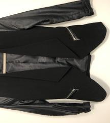 H&m kozna jakna/sako