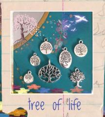 Privjesak Tree of life