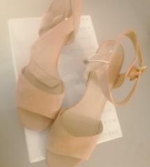 geox sandale 41 nove s etiketom nude bež