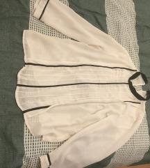 prljavo bijela bluza zara