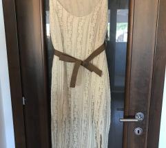 Čipkasta boho haljina