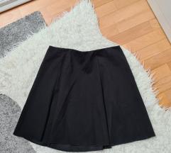 PULL&BEAR crna mini suknja