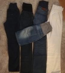 Lot hlača i suknja za trudnice 36