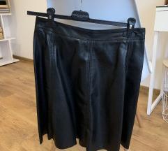 suknja od eko kože | H&M