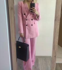 Zara rozo odijelo