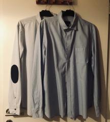 Massimo Dutti Košulja Svijetlo Plava