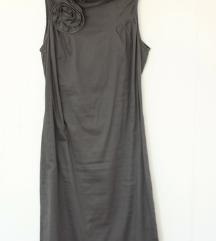 Naf Naf kratka siva haljina