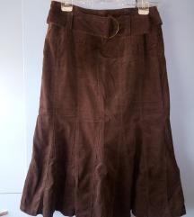 C&A samtena suknja