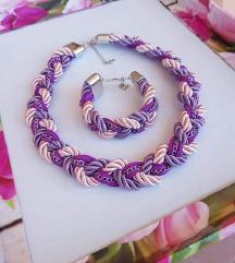 Handmade ogrlica i narukvica