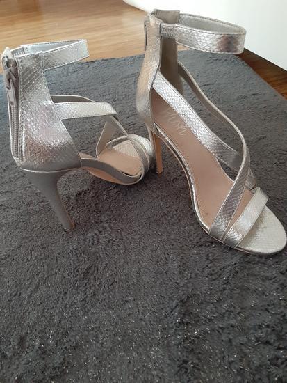 Srebrene sandale