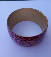 Roza leopard narukvica