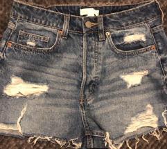 H&M kratke hlače visokog struka,  nenošene