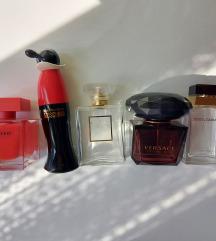 Prazne bočice parfema