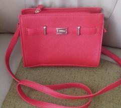 Crvena torbica like Hermes Birkin NOVO!!