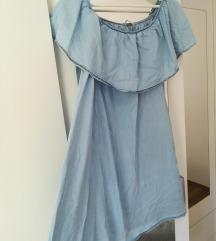 Jeans kratka haljina