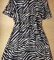 H&M zebra haljina, 44