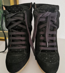 Zara wedge sneaker