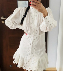 Zimmermann like bijela haljina XS-M