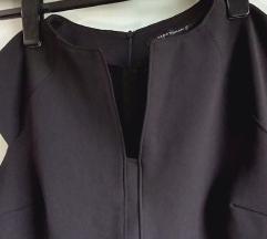 Zara crna klasična haljina L%%