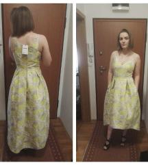 Asos svečana haljina apstraktnog cvjetnog uzorka