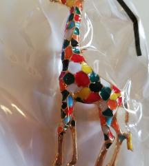 Broš žirafa