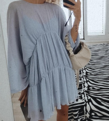 Zara lavanda tunika/haljina