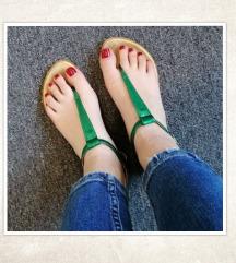 Zelene sandale, vel. 37