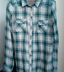 Zelena karirana košulja, L