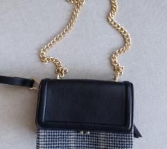 Zara torbica (karirani detalj)
