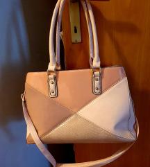 Pastelno roza torba