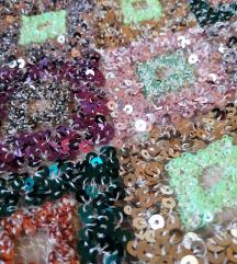 Zara suknja na šljokice