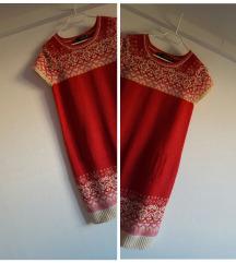 Zara vunena božićna haljina, kao nova