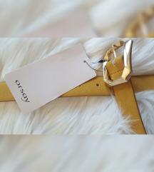 Orsay novi remen boje senfa od eko kože